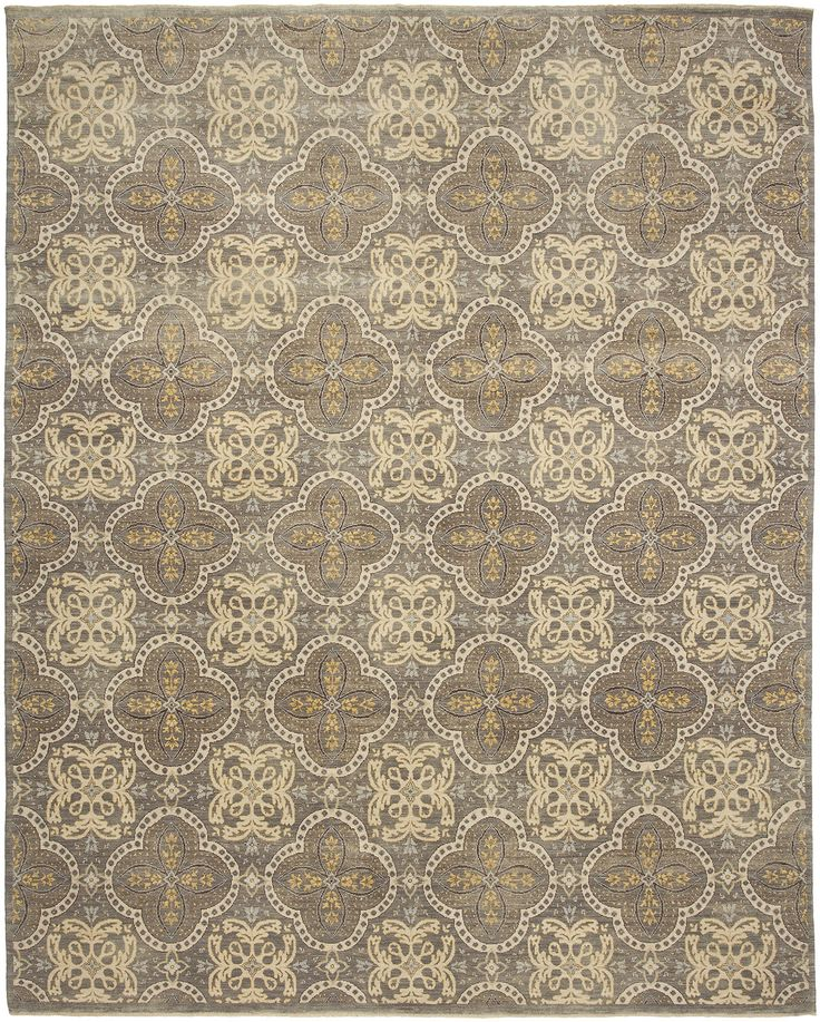 "We just received this beautiful 9'x12' hand-knotted wool rug, ""Mesa"" in grey! other sizes are available"