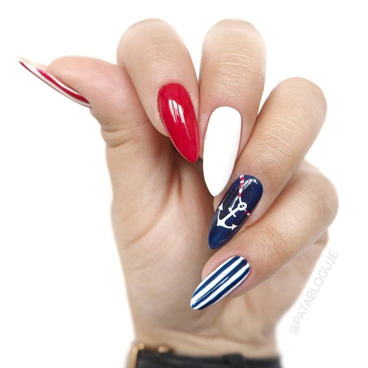 """Polubienia: 3,416, komentarze: 172 – Patrycja Kierońska (@patabloguje) na Instagramie: """"A tak prezentowały się moje paznokcie podczas dzisiejszego wielkiego pokazu @semilac w Warszawie.…"""""""