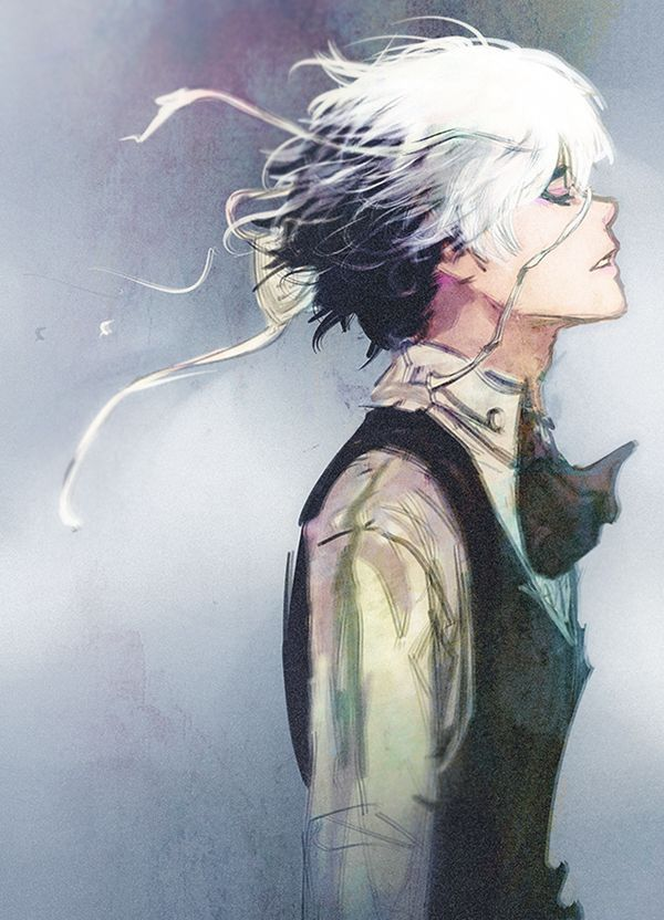 sometimes i think ive pinned all good kaneki art then i see this like damn art just damn