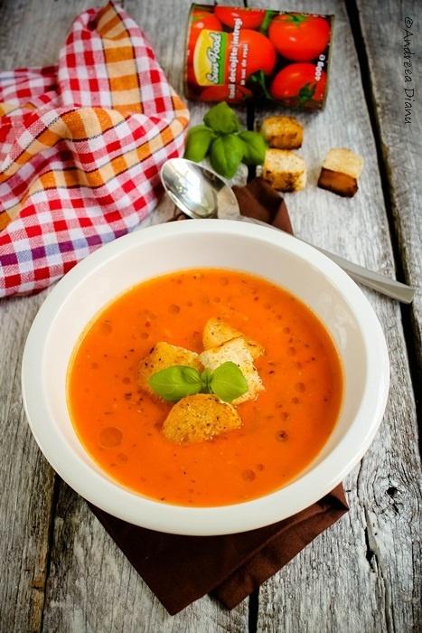 Supa de rosii | Pasiune pentru bucatarie