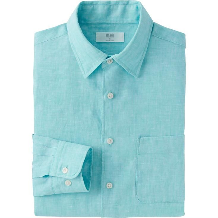 1000 images about uniqlo linen collection on pinterest for Uniqlo premium t shirt