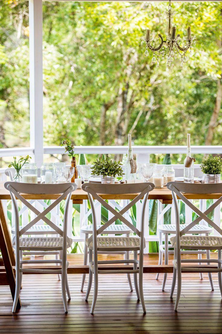 Outdoor dining Queensland Homes