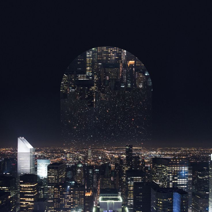 New Reflected Landscapes and Photo Manipulations by Victoria Siemer
