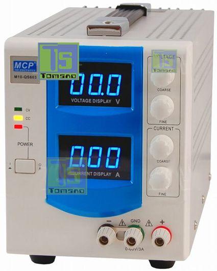 Zasilacz laboratoryjny 60V i 3A QS603 do pracy ciągłej http://programatory.pl/zasilacz_laboratoryjny_do_pracy_ciaglej.html