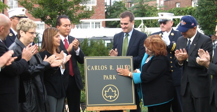 Carlos Lillo Memorial Site. #honor911