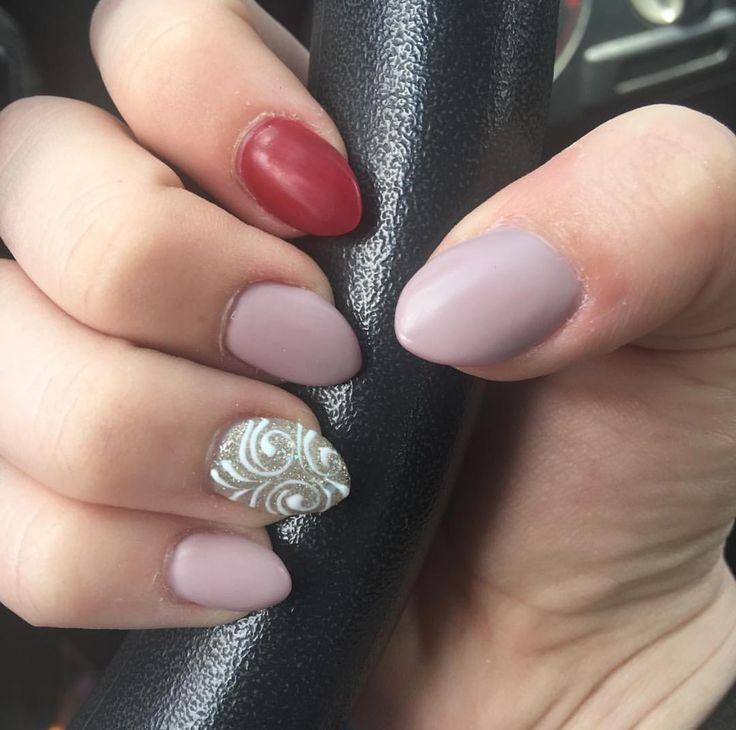 25+ Best Ideas About Red Matte Nails On Pinterest