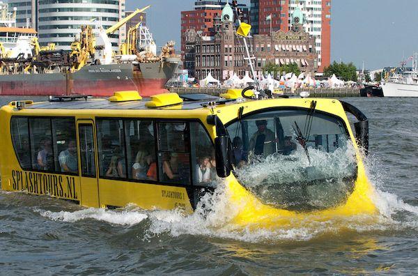 Bekijk Rotterdam vanaf het water bij Splash Tour Rotterdam