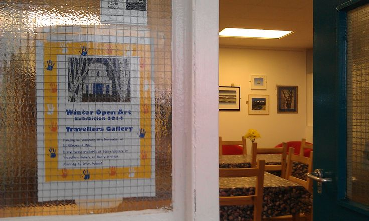 Mind Cafe @ Barry Train Station in South Wales host seasonal art exhibitions. A percentage of the sale of artwork goes toward supporting the good work of the Mind In The Vale charity which operates this cafe is doing :)