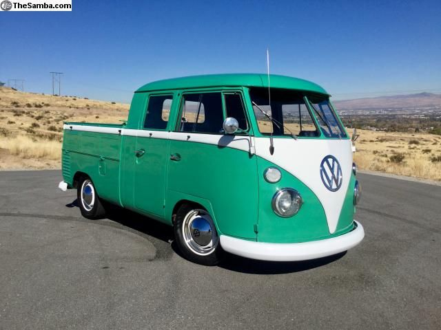 1962 t1 vw bus split window double cab reno nevada usa for 18 window vw bus