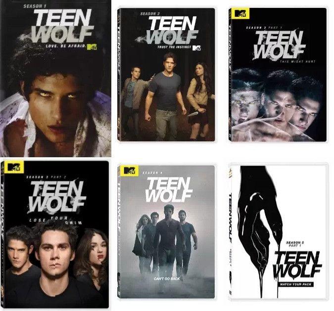 Teen Wolf Seasons 1-5 (DVD)