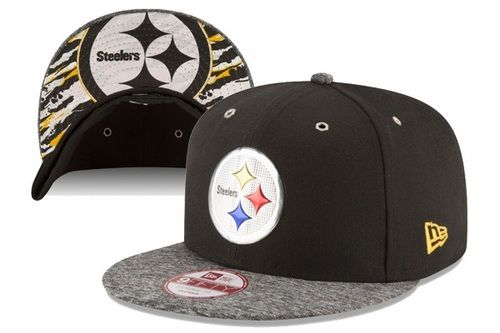 NFL Pittsburgh Steelers 2016 NFL Draft On Stage Snapback Hats 6 Hole Metal only US$8.90 - follow me to pick up couopons.