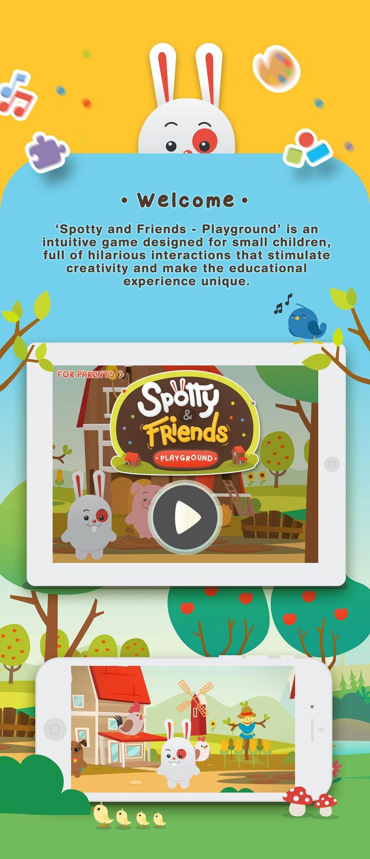Spotty & Friends - Kidz Game App on Behance