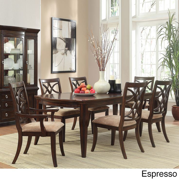 TRIBECCA HOME Cheshire 7-piece Traditional Dining Set - Overstock™ Shopping - Big Discounts on Tribecca Home Dining Sets