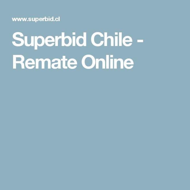 Superbid Chile - Remate Online
