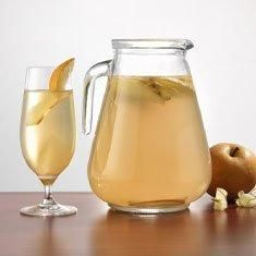 26 Delicious Flavored Water Recipes: Ginger Pear Water