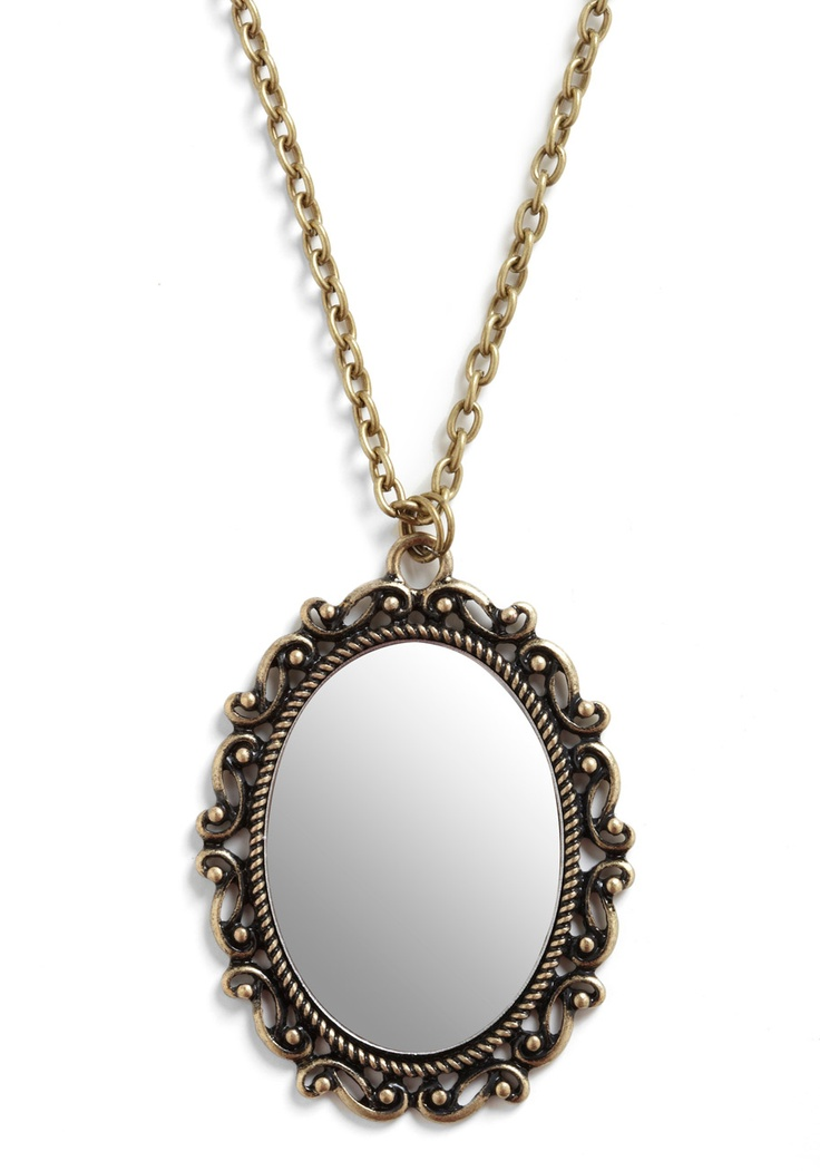 In the Mirror Future Necklace- for the perfect Snow White inspired get-up