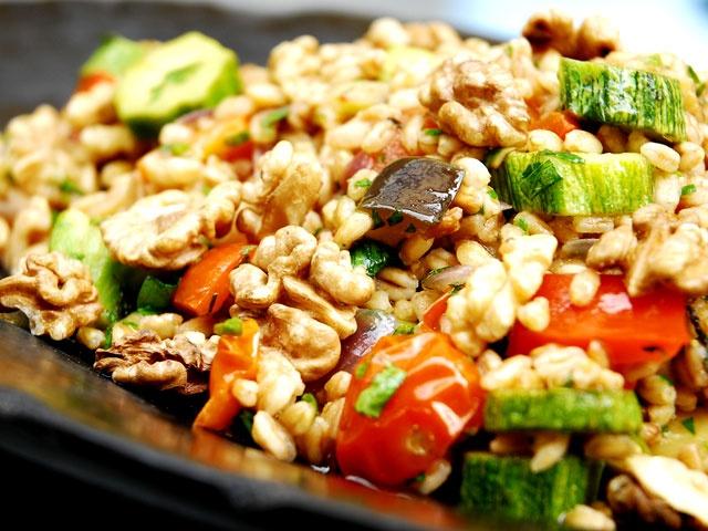 Insalata di Farro: Spelt Salad from CookingChannelTV.com