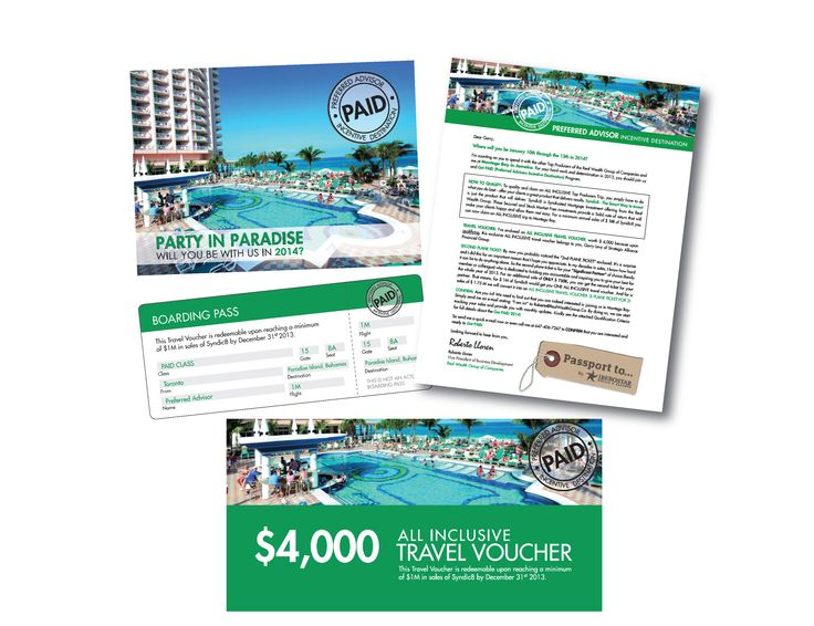Vacation Promotion Design