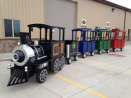 Roundhouse Trackless Train Company | Gas Train