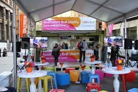 The Benevolent Society's 200 years birthday in Martin Place, May 8th, 2013.