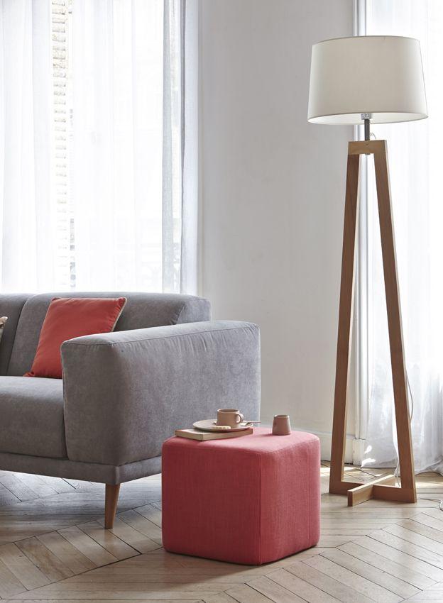 Lampe Canape Lampadaire Design Avec Liseuse Maison Labarrere