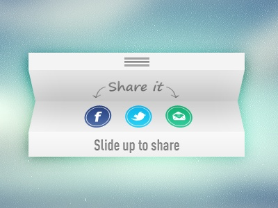 Slide up... / #ui