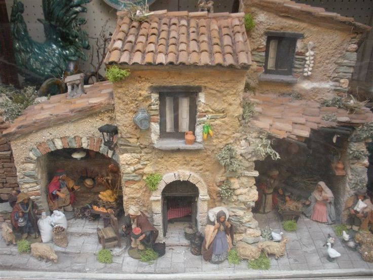 17 best images about nativity on pinterest for Casette in legno usate ebay