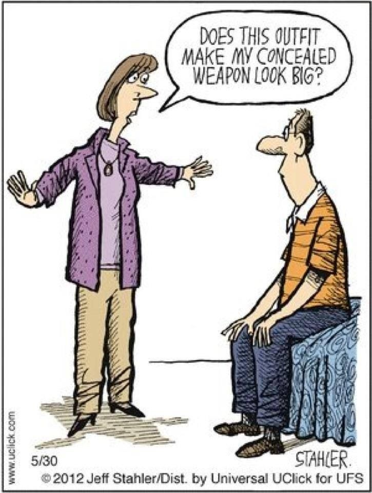 Conceal Carry Funny