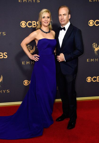 Rhea Seehorn and Bob Odenkirk - The Cutest Couples at the 2017 Emmy Awards - Photos