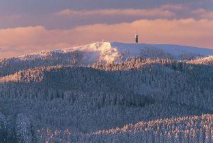 Le Feldberg est la plus haute montagne en Forêt-Noire. Un paradis pour le ski, skyte ou freestyle