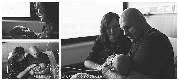 Iowa city hospital newborn photography
