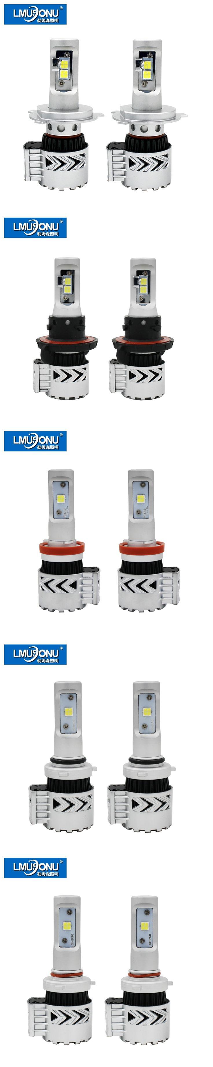LMUSONU 6000lm 8G LED Car Headlight Super Bright 9005 9006 9007 H4 H7 H11 H13 Automotives Headlamp