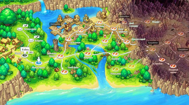 Interface. Global map by Mangust-art.deviantart.com on @deviantART