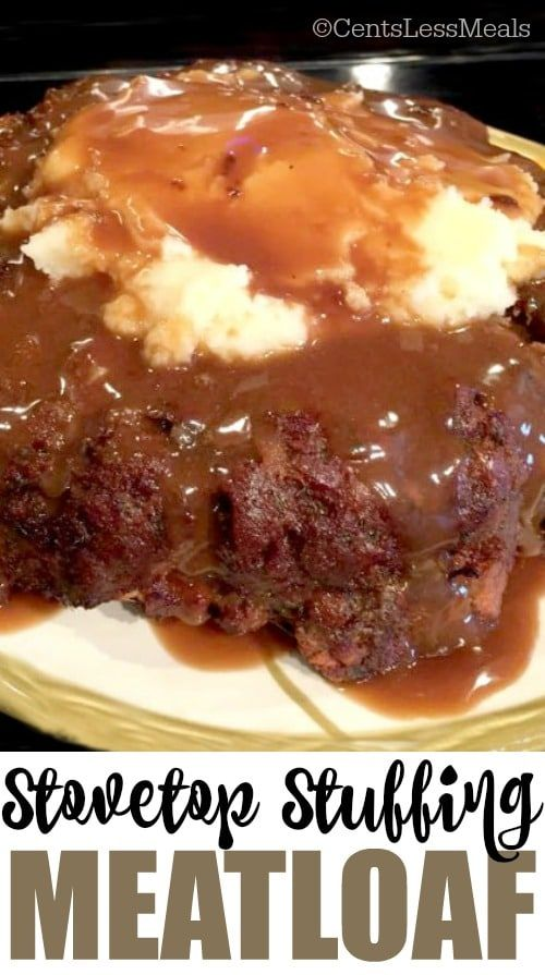StoveTop Stuffing Meatloaf Recipe Pin this recipe to your DINNER BOARD to SAVE it for later! Be sure to follow CentsLessDeals on Pinterest for more easy dinne(...)