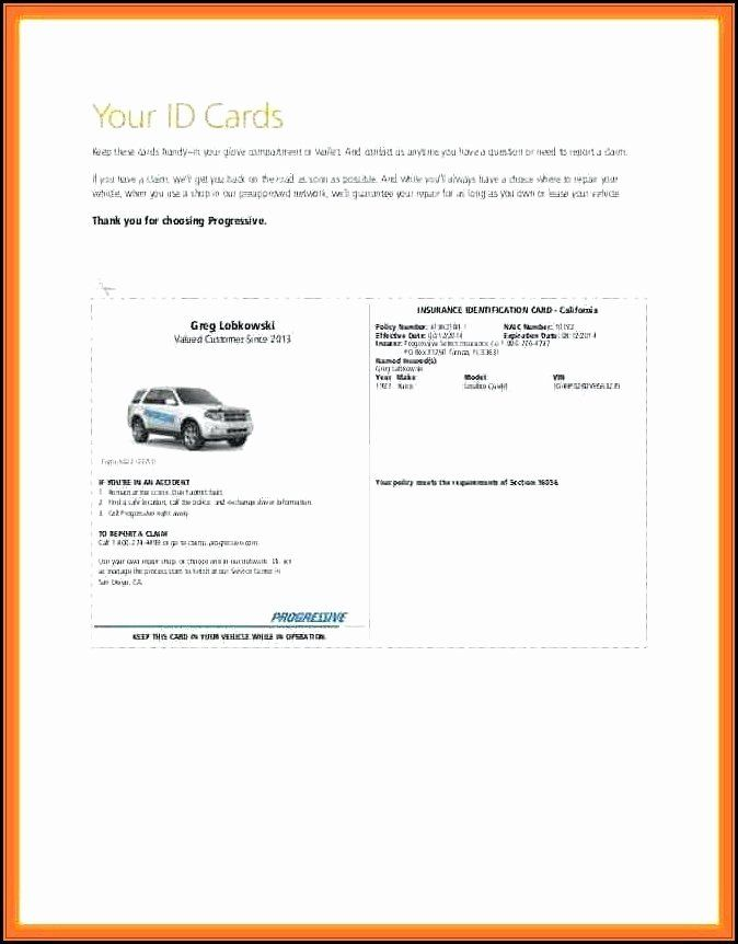 Blank Car Insurance Card Template Unique Beautiful Printable Recipe Card Free Template Progressive Insurance Insurance Printable Card Templates Free
