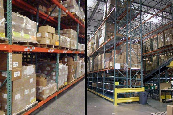 Used Pallet Racks in  MN  - Used Pallet Racking for Sale
