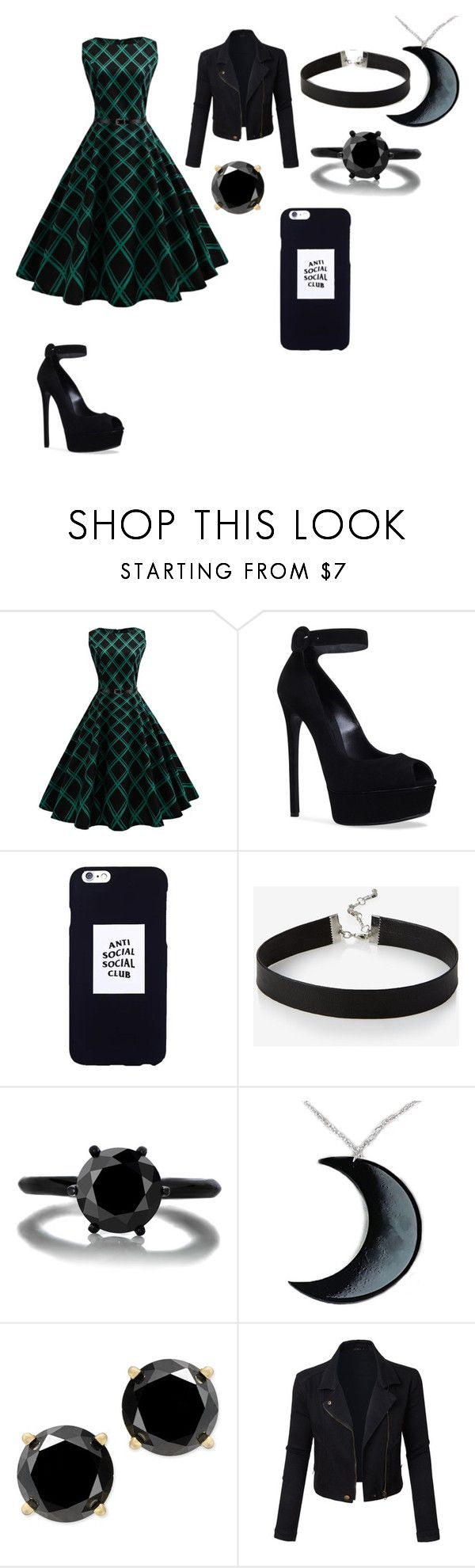 """""""Untitled #248"""" by candysmash6252 on Polyvore featuring WithChic, Casadei, Anti Social Social Club, Express, Curiology and LE3NO"""