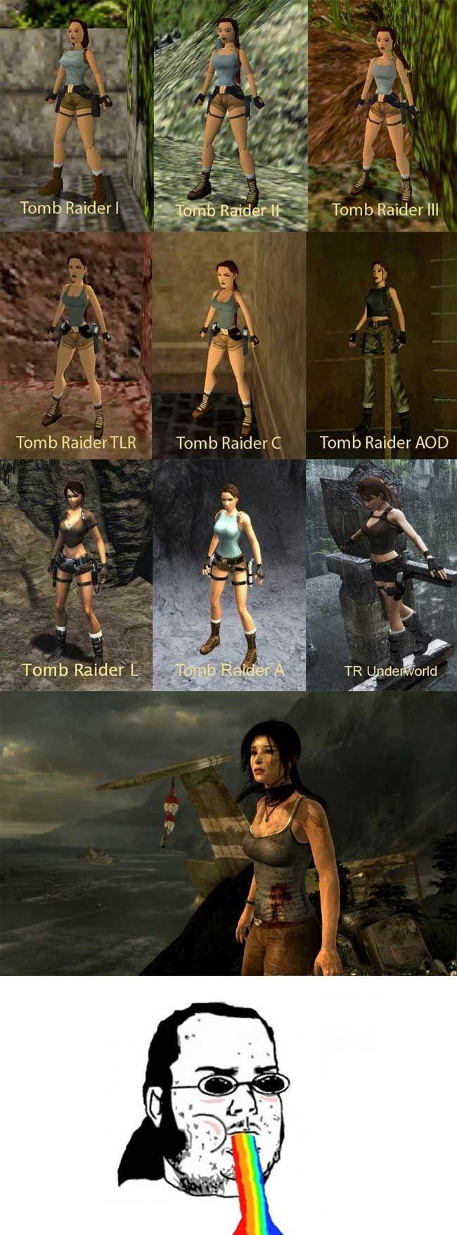 Evolution of Lara Croft - Images