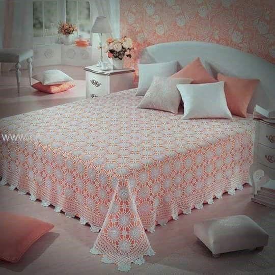 80 best Crochet Bedspread images on Pinterest | Crochet bedspread ...