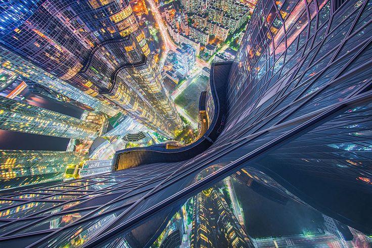 Busan, Corea del Sud  Fotografia di Albert Dros, Travel Photographer of the Year Contest.