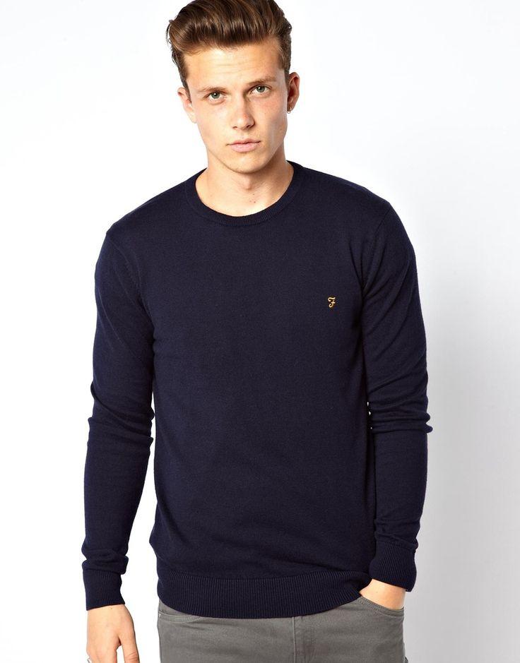 Have a look at this  Farah Jumper - Navy - http://www.fashionshop.net.au/shop/asos/farah-jumper-navy/ #ClothingAccessories, #Farah, #Jumper, #Knitwear, #Male, #Mens, #MensCardigans, #Navy #fashion #fashionshop