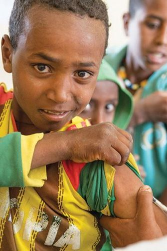 330 children die from measles every day, despite the availability of a safe, effective and affordable vaccine.  Prevent children from catching this highly contagious disease by providing measles vaccines to children in need.  Choose a gift, dedicate it to your friend or loved one and save lives. #SurvivalGifts