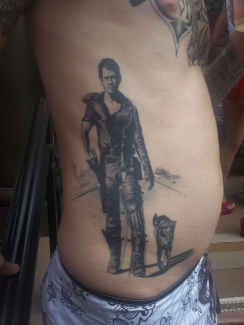 Mad Max Tattoo If Only For The Heeler Tatted Up