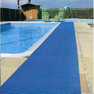 Mats Inc. World's Best Barefoot Anti-Slip Mat Size: 2' x 30', Color: Libght Blue