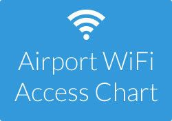 Airport WiFi Access Chart