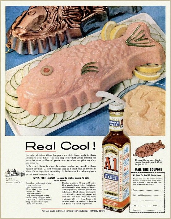 Chronically Vintage: There's something fishy about this 1950s recipe