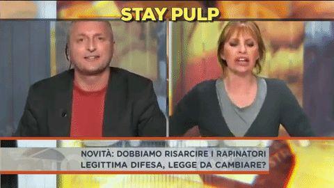 La GIF di Alessandra Mussolini che manda a quel paese Martinelli http://staypulp.blogspot.com/2017/02/la-gif-di-alessandra-mussolini-che.html