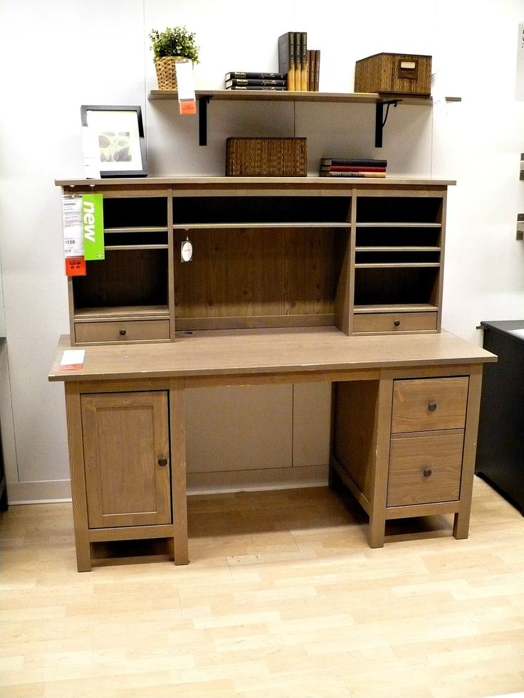 ikea love this and love on pinterest amazing office desk hutch