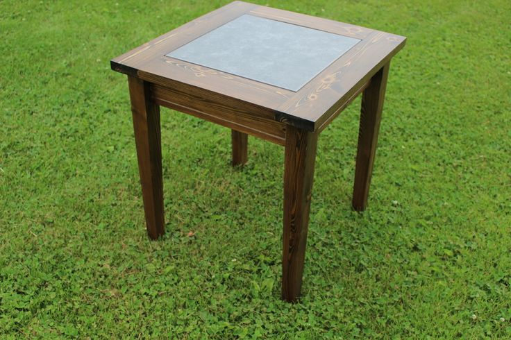 Cedar Tile Table