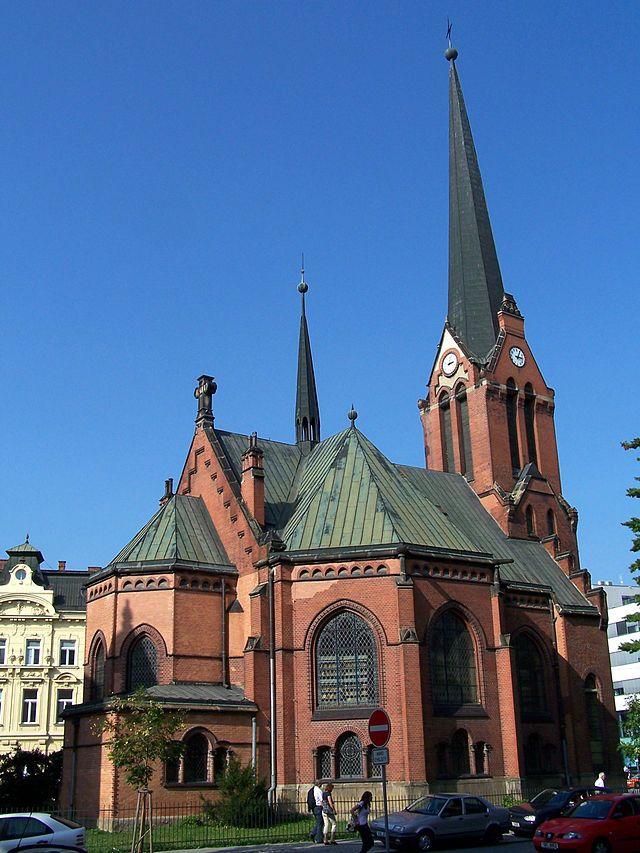 Red Church in Olomouc